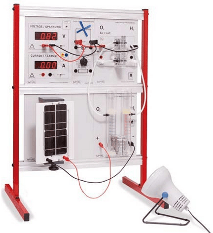 LeXsolar - Painel Demonstrativo de Células de Combústivel H2
