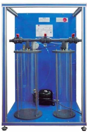 Unidade de Estudo da Expansão de Um Gás Perfeito com SCADA e Controle PID