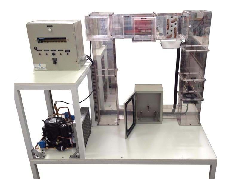 Kit Simulador dos Ciclos de Refrigeração