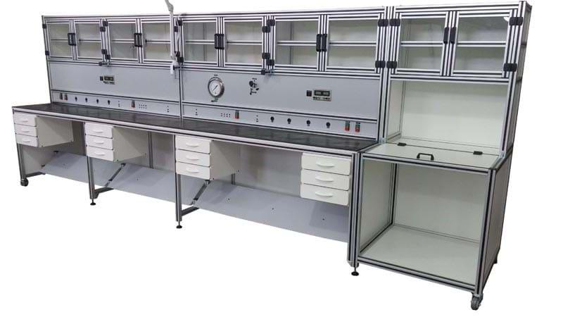 Estação de trabalho para manutenção em instrumentação industrial
