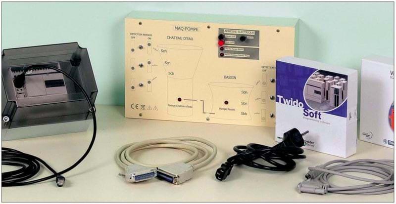 Kit de Bombeamento de Água com Controle por CLP