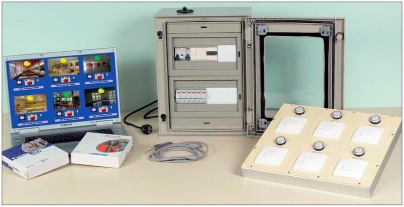 Kit de Iluminação com Controle por CLP