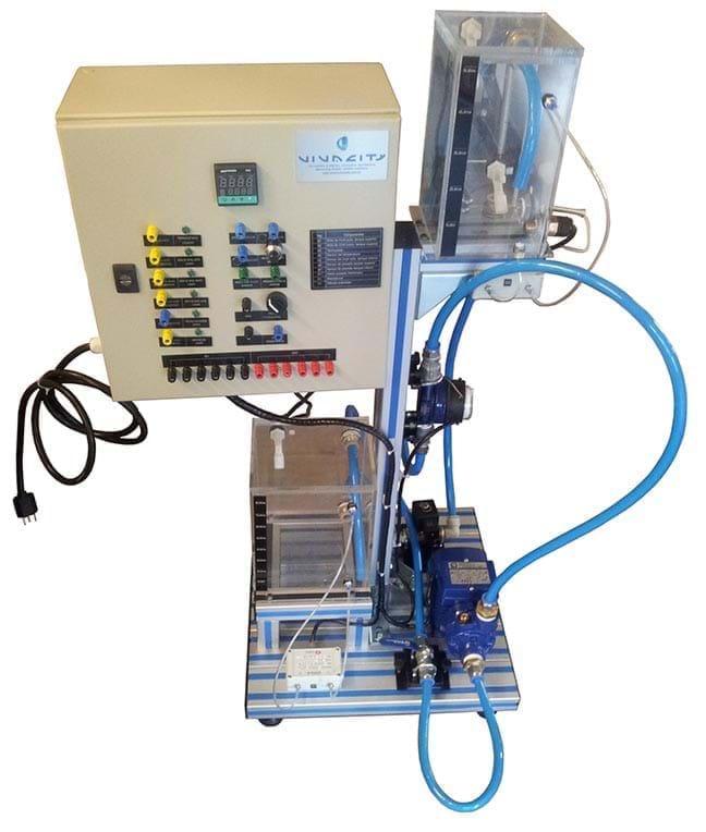 Controle de Processos Vazão, Nível e Temperatura - CP2