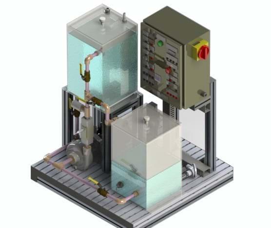 Controle de Processos Vazão, Nível e Temperatura - CP1