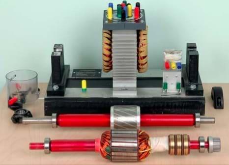 Conjunto de Máquinas Elétricas AC 48V