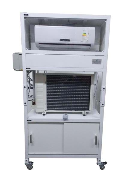 Kit Painel Simulador de Instalação de Ar Condicionado  Domestico
