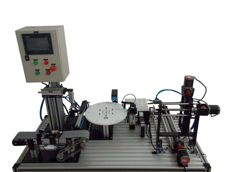 Manufatura Integrada com Estação De Armazenagem  XYZ - MF2