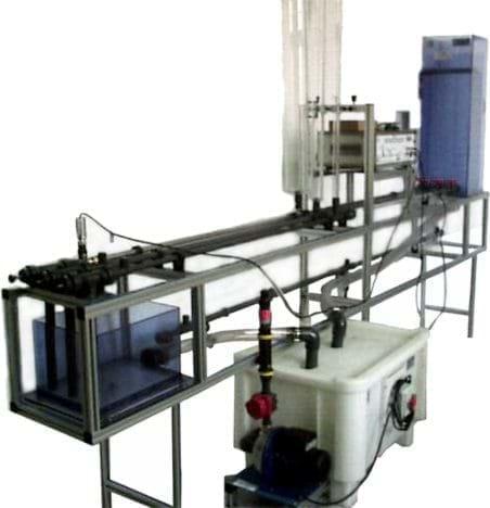 Unidade de Simulação Efeito Martelo D'água controlado por Computador