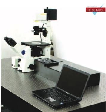 Espectrômetro Raman Laser Confocal