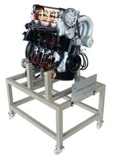 Plataforma de Visualização de Funcionamento Motor a Gasolina / Diesel