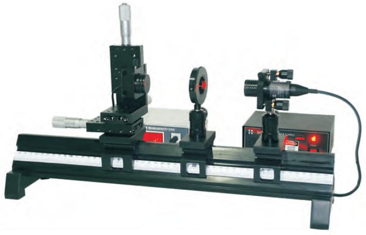 Ensaio para caracterização do diodo laser