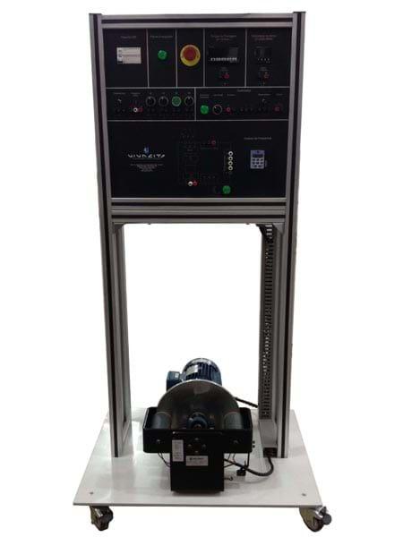 Conjunto de Acionamento de Máquinas Elétricas com Freio Eletrodinâmico
