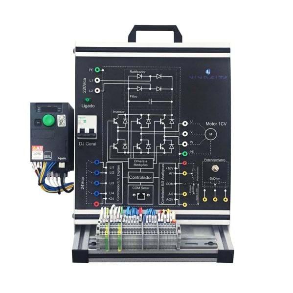 Kit de Treinamento em Inversor de Frequência Schneider - MC6