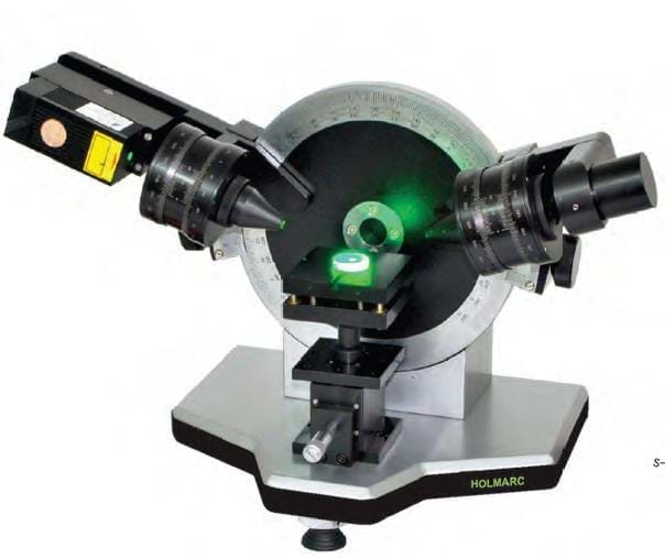 Laser Elipsómetro com Ângulo Variável