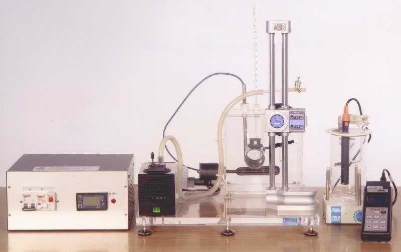 Unidade de Estudo do Coeficiente de Difusão Gasosa