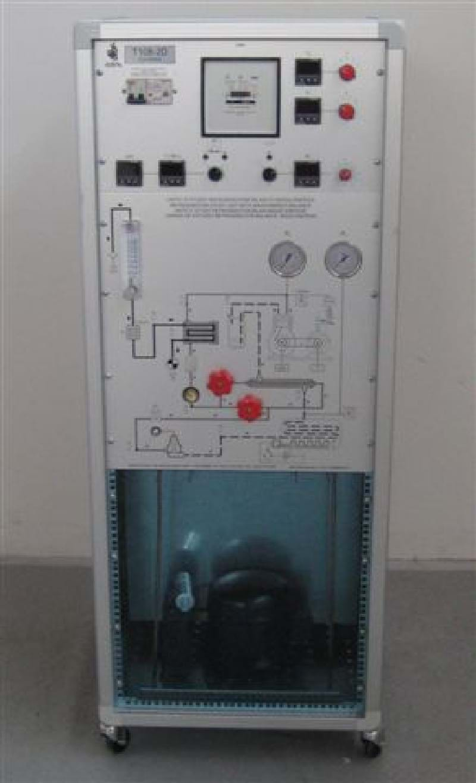 Unidade de Estudo de Refrigeração: Balanço Massa/Energia
