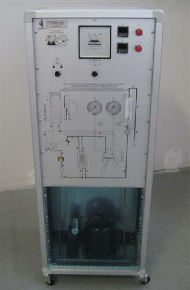 Unidade de Estudo de Ar Condicionado com Bomba de Calor