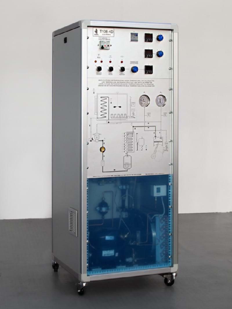 Unidade de Estudo de Refrigeração a Baixa Temperatura