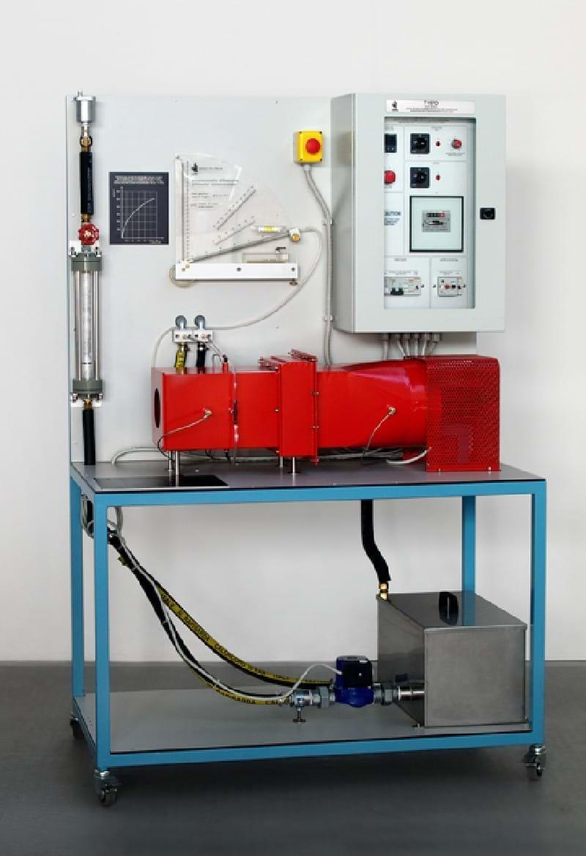Unidade de Estudo Troca de Calor ar/água