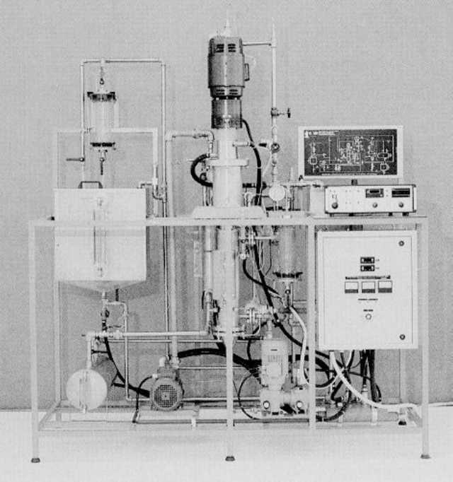 Evaporador/Concentrador de Camada Fina