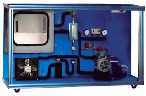 Equipamento de Refrigeração com Compressor Aberto, Controlado por Computador (PC)